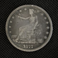 1877-S TRADE DOLLAR $1 VF20