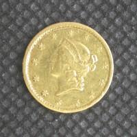 1851-C LIBERTY GOLD DOLLAR TY'1 $1 EF40