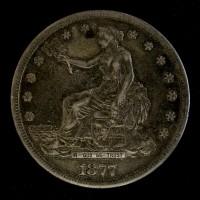 1877-S TRADE DOLLAR $1 EF40