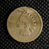 1859 INDIAN CENT 1c G6
