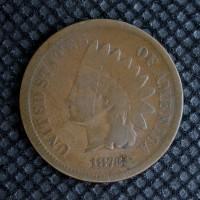 1873 Op3 INDIAN CENT 1c G5