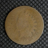 1866 INDIAN CENT 1c Fr2