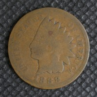 1888 INDIAN CENT 1c G4
