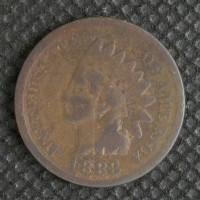 1883 INDIAN CENT 1c G4