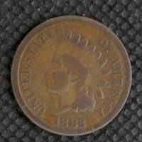 1882 INDIAN CENT 1c G4