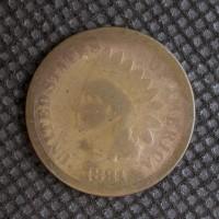 1881 INDIAN CENT 1c VG8