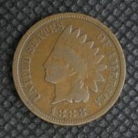 1888 INDIAN CENT 1c VG8