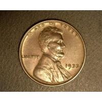 1933 LINCOLN WHEAT CENT 1c AU50