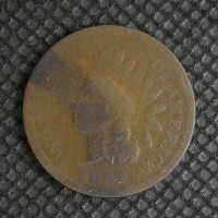 1867 INDIAN CENT 1c G4
