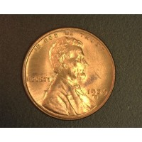 1939-D LINCOLN WHEAT CENT 1c MS64 RB 90%RD