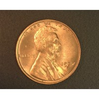 1937-D LINCOLN WHEAT CENT 1c MS64 RD