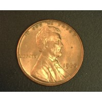 1960 SD LINCOLN MEMORIAL CENT 1c MS63 RB