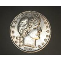 1894-S BARBER HALF DOLLAR 50c MS63