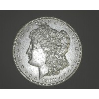 1900-S MORGAN DOLLAR $1 AU58+