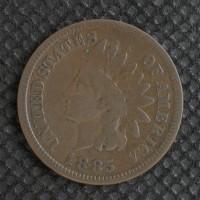 1885 INDIAN CENT 1c F18