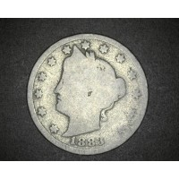 1883 w/Cents LIBERTY NICKEL 5c (Nickel) G/Fr2