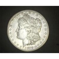 1878-CC MORGAN DOLLAR $1 EF45