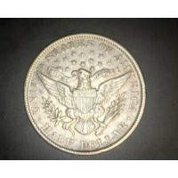 1901 BARBER HALF DOLLAR 50c AU50