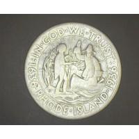 1936 Rhode Island 1/2$ VF20