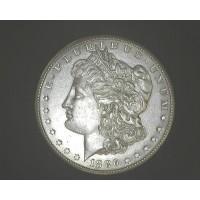 1886-S MORGAN DOLLAR $1 AU58