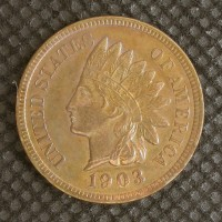 1903 INDIAN CENT 1c MS64 RD