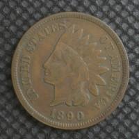 1890 INDIAN CENT 1c F18
