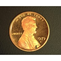 1979-S Ty'2 LINCOLN MEMORIAL CENT 1c MS63 RD
