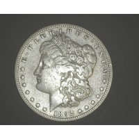 1892-S MORGAN DOLLAR $1 F18