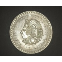 MEXICO, 1948 5 Pesos MS63 KM465