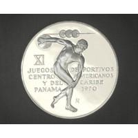 PANAMA, 1970 5 Balboas PF65+ DCam KM28