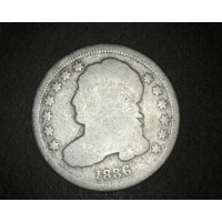 1836 CAPPED BUST DIME 10c G/AG
