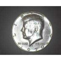 1970-D KENNEDY HALF DOLLAR 50c MS63