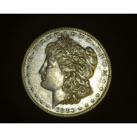 1883-S MORGAN DOLLAR $1 AU50