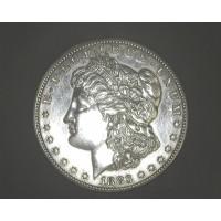 1883-S MORGAN DOLLAR $1 AU58