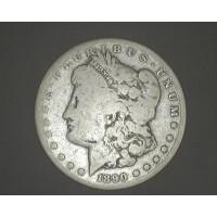 1890-CC MORGAN DOLLAR $1 G4
