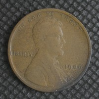 1909 LINCOLN WHEAT CENT 1c F18