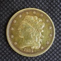 1834 SmPl4 CLASSIC HEAD $5 GOLD $5 EF48