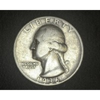 1936-D WASHINGTON QUARTER 25c F12