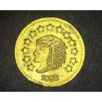 1852 1/2 Round BU