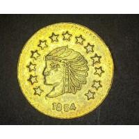 1854 1/2 Round BU