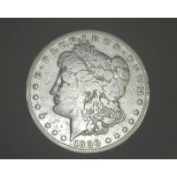 1896-S MORGAN DOLLAR $1 VG8