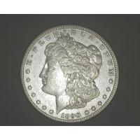 1890-CC MORGAN DOLLAR $1 VF35