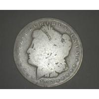 1893-CC MORGAN DOLLAR $1 G4