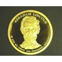 2010-S Lincoln PRESIDENTIAL DOLLAR $1 PF65+ DCam
