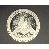 2012-S Hawaii Volcanoes NATIONAL PARKS QUARTER 25c PF65+ DCam