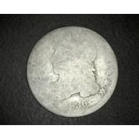 1836 CAPPED BUST DIME 10c Fr/PO