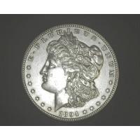 1894-S MORGAN DOLLAR $1 AU50