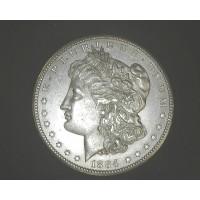 1884-CC MORGAN DOLLAR $1 MS63