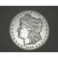 1892-CC MORGAN DOLLAR $1 AU53
